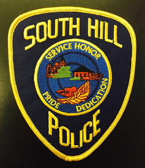 South Hill Police Dept. patch